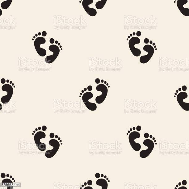 Seamless monochrome baby footprint pattern background vector id852533372?b=1&k=6&m=852533372&s=612x612&h=baa8aayub zm4p2ekvjgziduxznvygx3kcgh8hyn9nw=