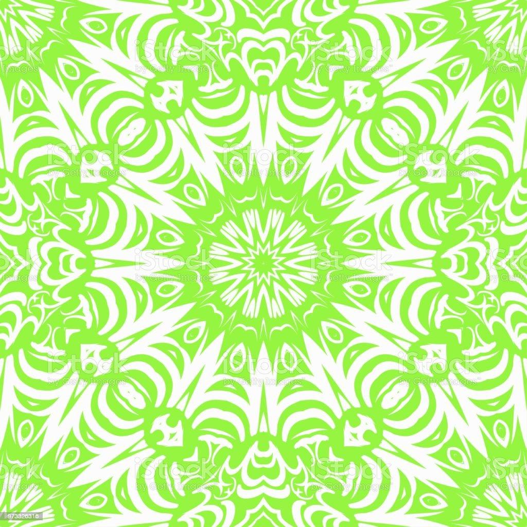 Motif Floral Monochrome De Couleur Transparente Dessin