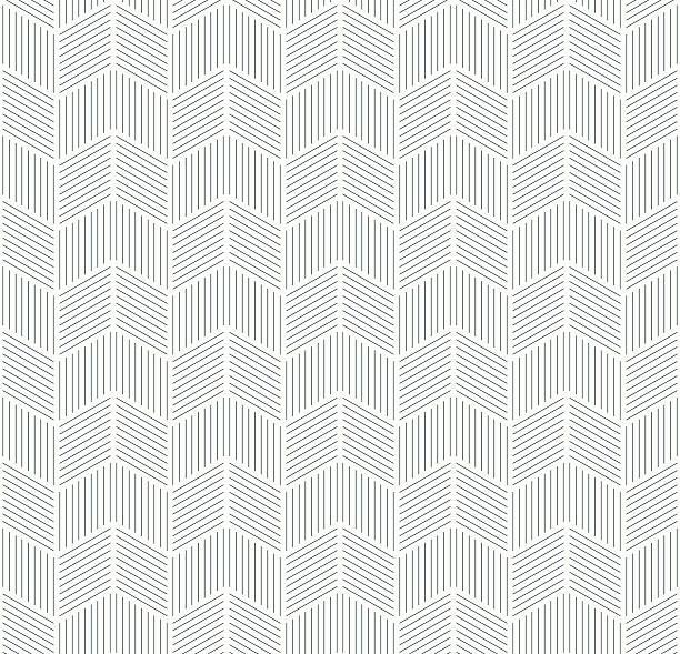 illustrazioni stock, clip art, cartoni animati e icone di tendenza di seamless monochrome pattern of stripes. - zigzag