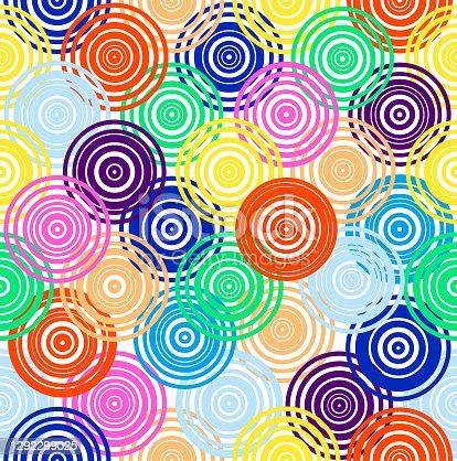 istock seamless multi-color futuristic  pattern 1292299025