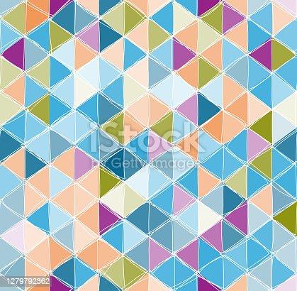 istock seamless multi-colore rhombus pattern 1279792362
