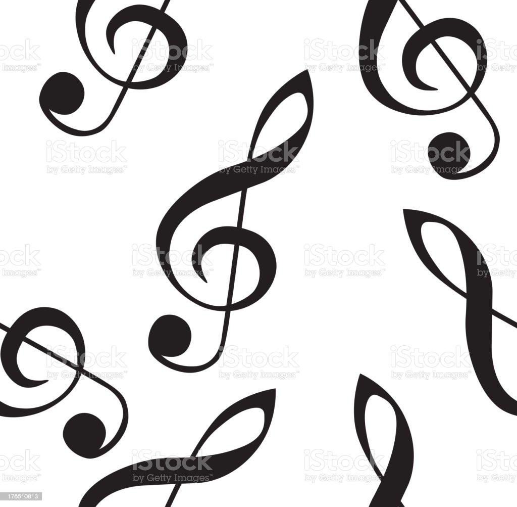 音楽の壁紙シームレスな背景 ひらめきのベクターアート素材や画像を