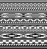 this is inspired by the native American Indian tribe blankets and also the Mian tattoo's.