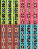 This is derived from all the really cool native American quilts i have seen in old black and white photos of the tribes in full garb. hope you enjoy, there are 4 separate vector seamless swatches.