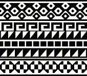 istock Seamless - Native American, Aztec, Mian Pattern 165599570