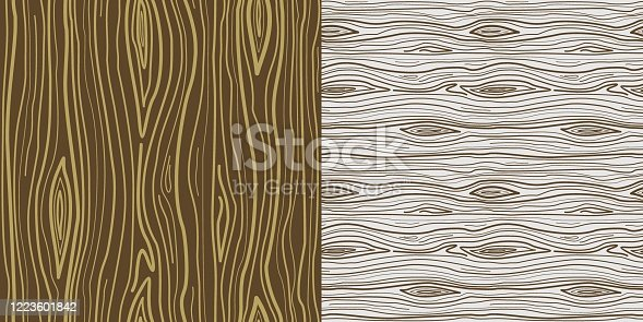Seamless natural vector wood pattern. Trend set for 3D modeling masks, background, textiles, glass, mosaics, textures, wallpapers, paper and prints.