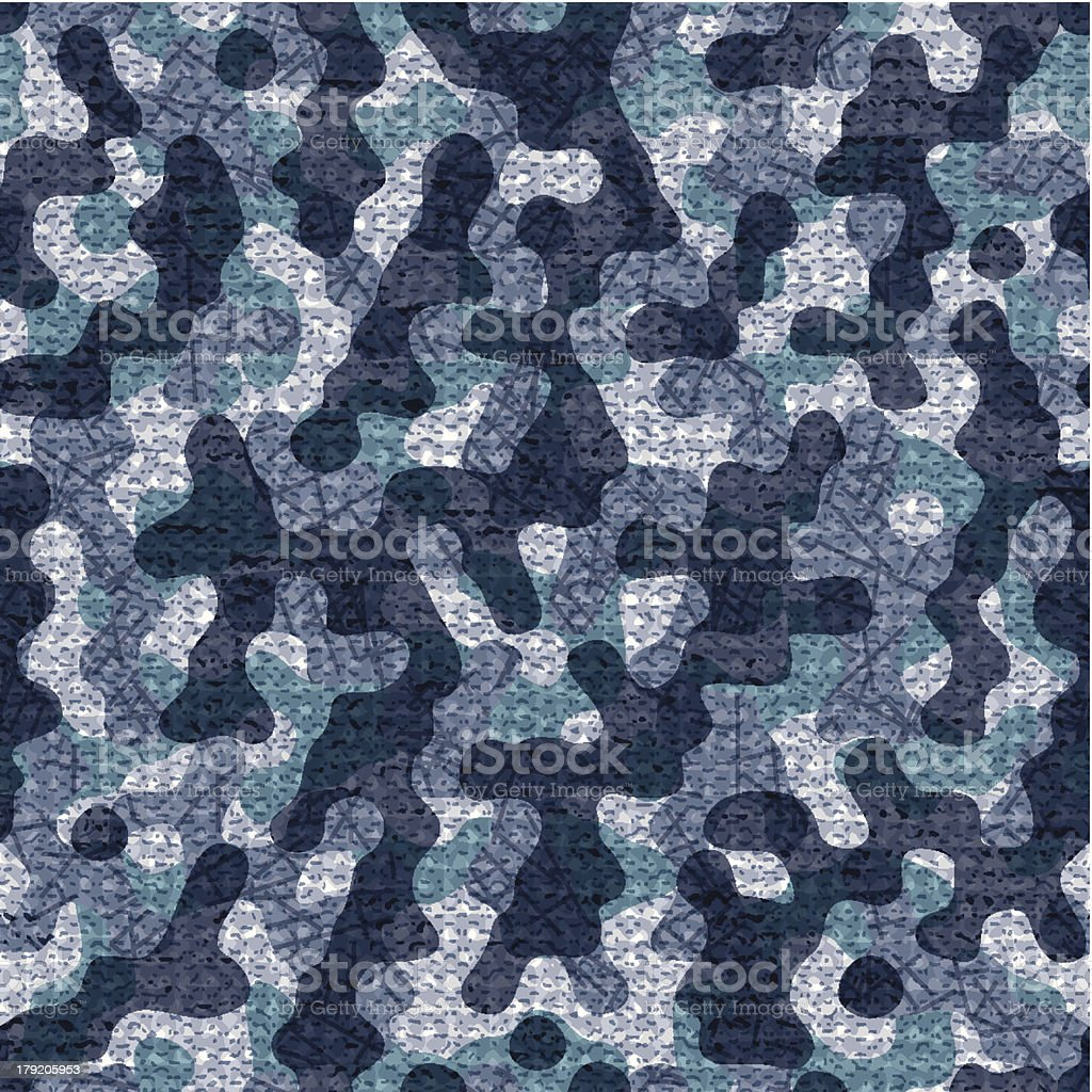 Seamless navy camouflage background