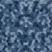 Seamless navy camouflage grid background