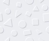 istock Seamless Neumorphism Modern Background 1250128314