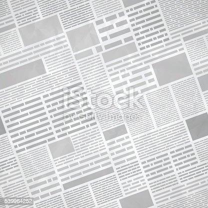 istock Seamless Newspaper Background 539964252