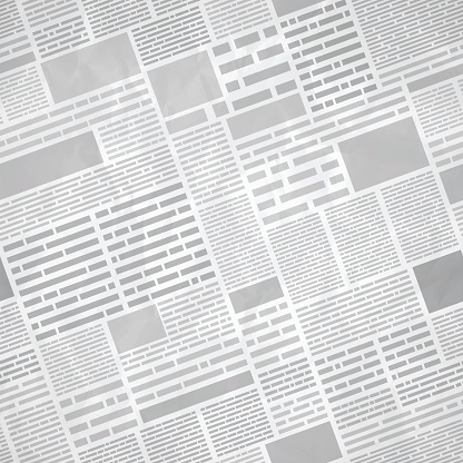Seamless newspaper background concept. EPS 10 file. Transparency effects used on highlight elements.
