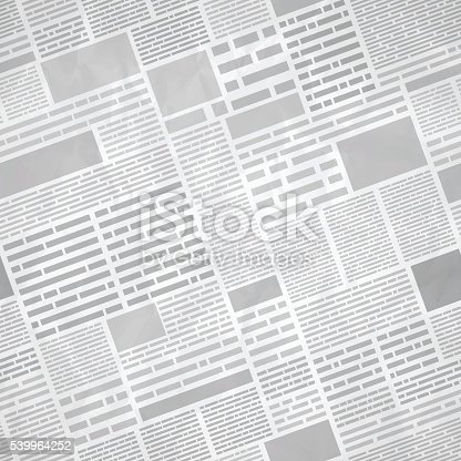 istock Seamless Newspaper Background 539964252