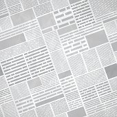 Seamless Newspaper Background