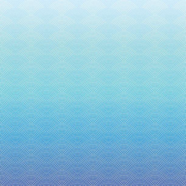 シームレスな海洋波のパターン ベクターアートイラスト