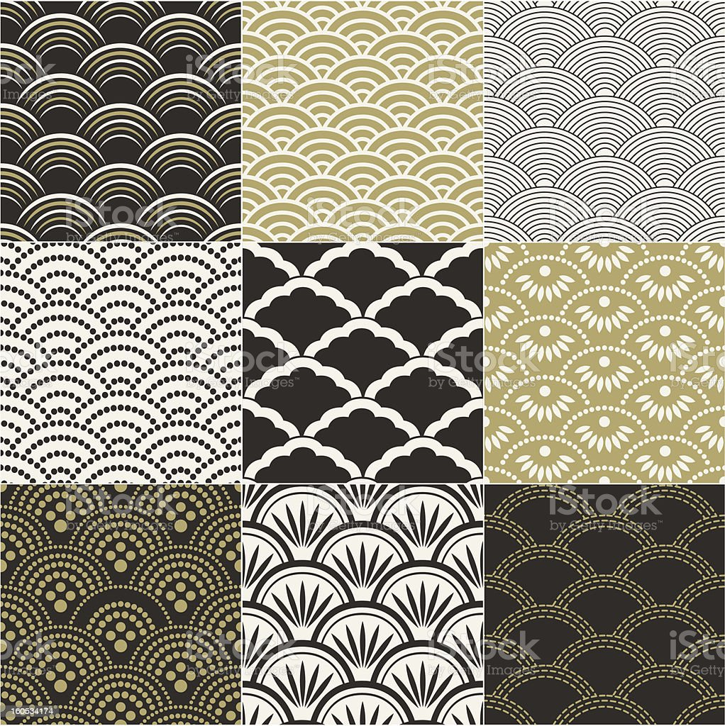 seamless ocean wave pattern royalty-free seamless ocean wave pattern stock vector art & more images of abstract