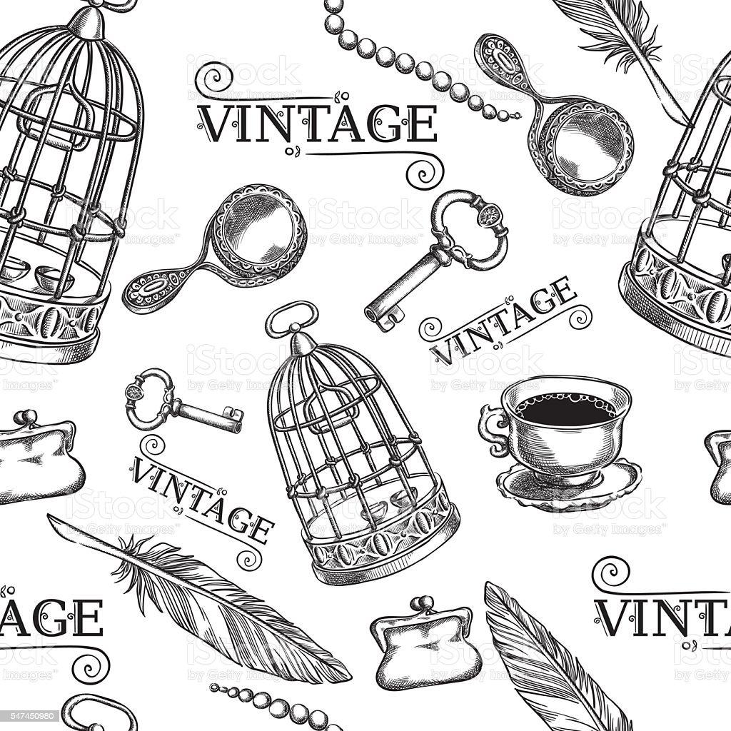Dessin Cage A Oiseaux Vecteurs Et Illustrations Libres De Droits