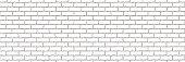 Seamless of white brick