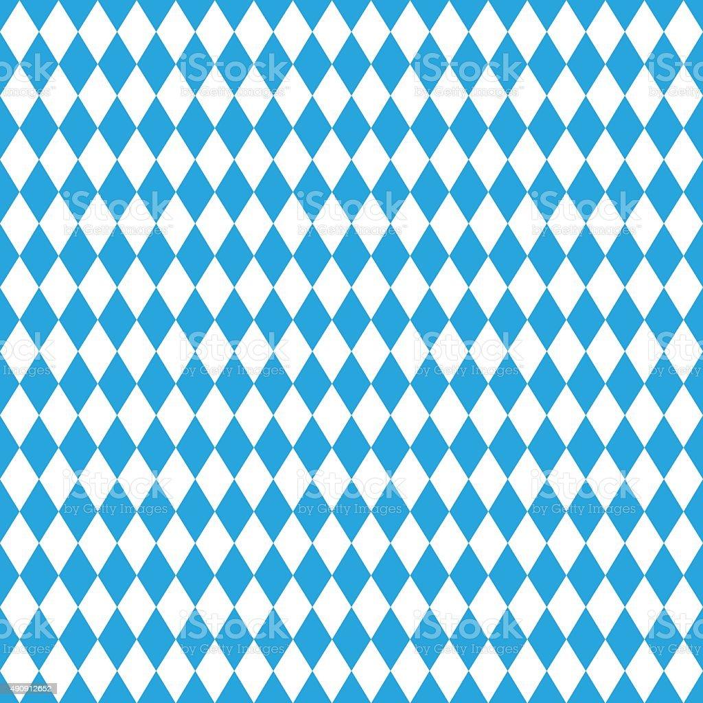 Nahtlose Oktoberfest blauem Hintergrund – Vektorgrafik