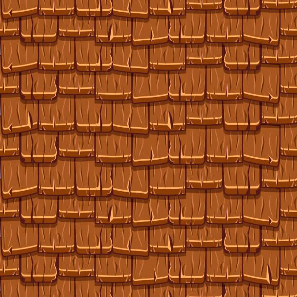 Best Wood Shingle Illustrations Royalty Free Vector