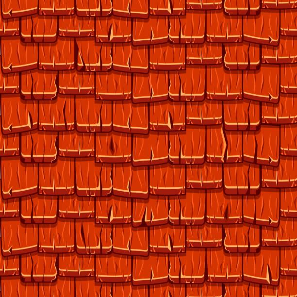 Royalty Free Wood Shingle Clip Art Vector Images