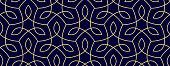 istock Seamless Organic Nature Plant Vector Pattern 1210887795