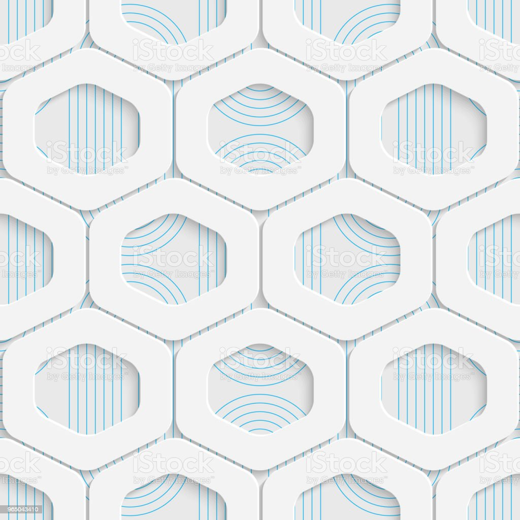 Seamless Origami Pattern. 3d Modern Lattice Background royalty-free seamless origami pattern 3d modern lattice background stock vector art & more images of abstract
