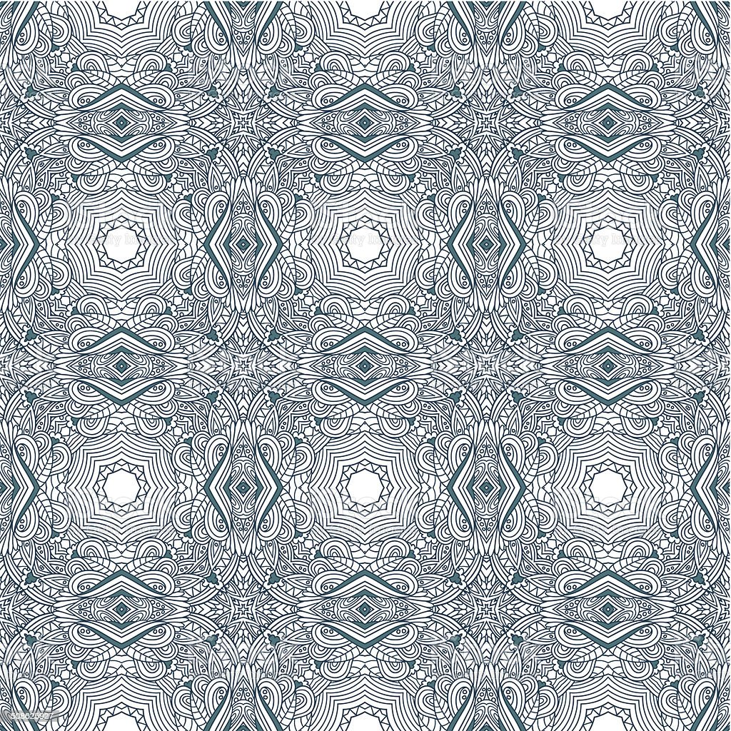 Seamless ornamental pattern background royalty-free seamless ornamental pattern background stock vector art & more images of abstract