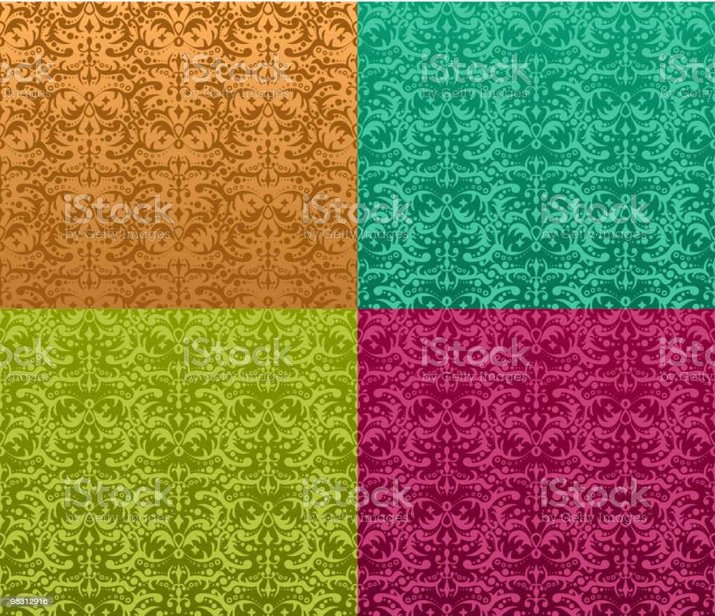 Seamless ornamental pattern royalty-free seamless ornamental pattern stock vector art & more images of abstract