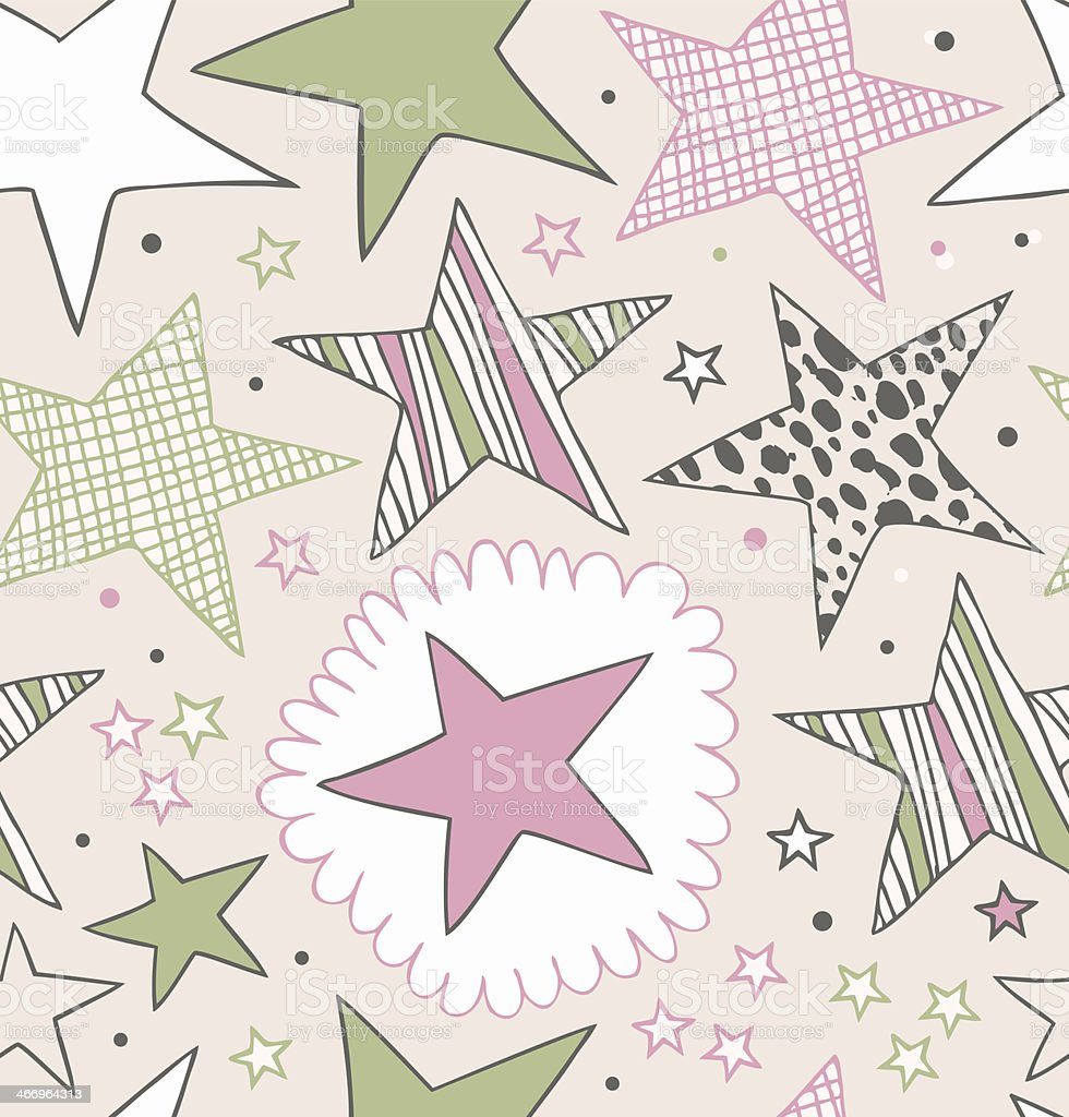 Seamless ornate pattern with stars royalty-free seamless ornate pattern with stars stock vector art & more images of abstract