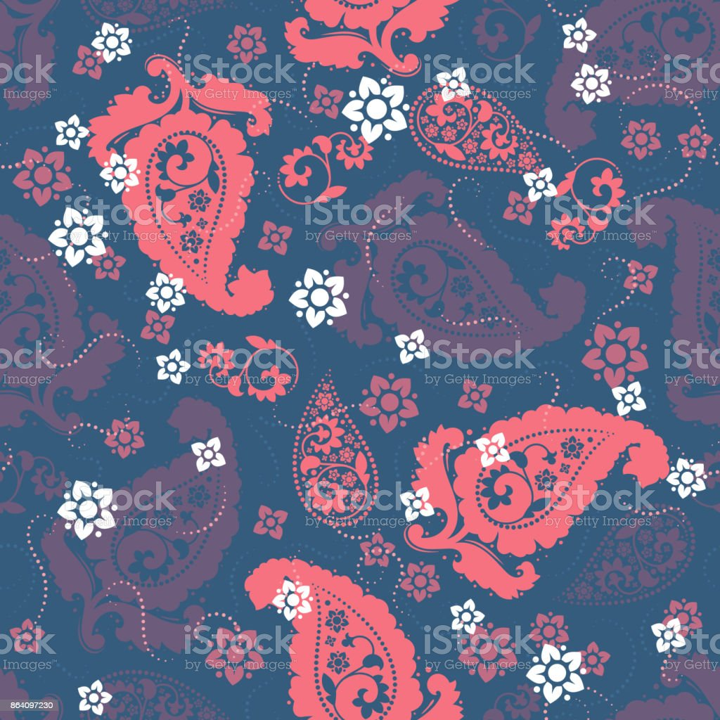 Seamless paisley pattern royalty-free seamless paisley pattern stock vector art & more images of arab culture