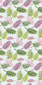 Seamless Palm Background
