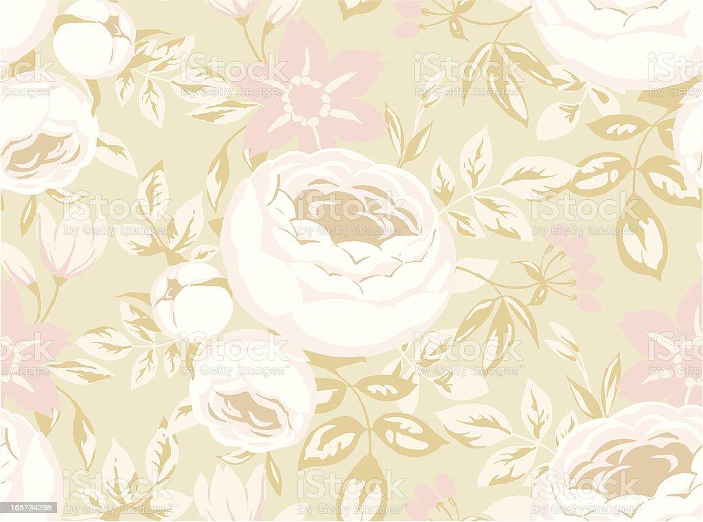 seamless Pastel Rose royalty-free stock vector art