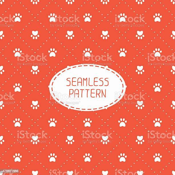 Seamless pattern animal footprints cat dog wrapping paper paw prints vector id478821886?b=1&k=6&m=478821886&s=612x612&h=jj5qjqw96royvf vig2o1wtkrcmjen4iiaxawmk35cu=