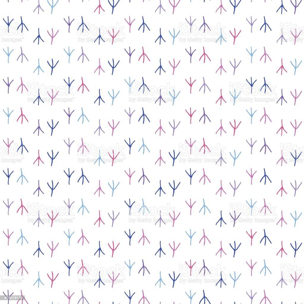 Ilustración de Fondo Transparente En Colores Rastros De Aves y más ...