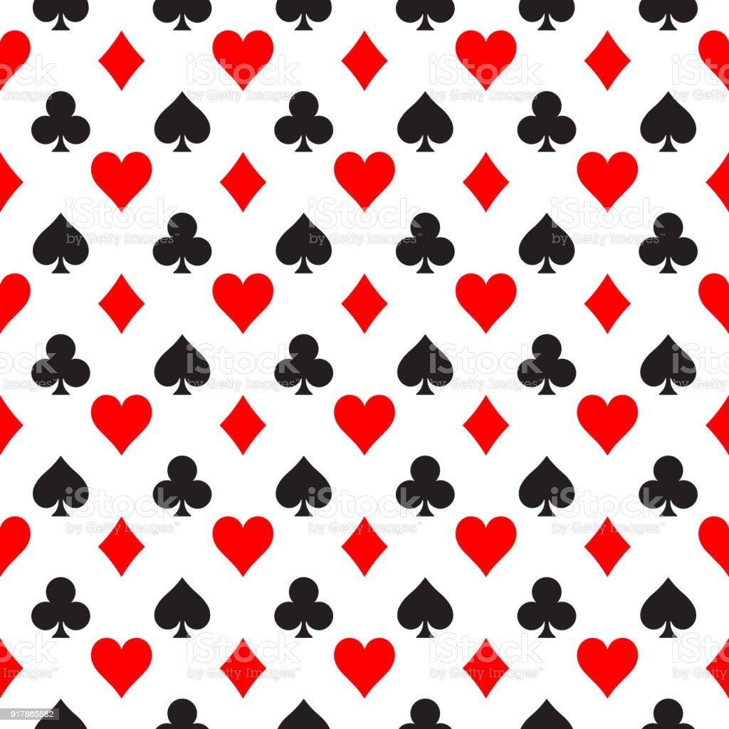 Ilustración De Fondo Transparente De Poker Juegos Corazones Palos