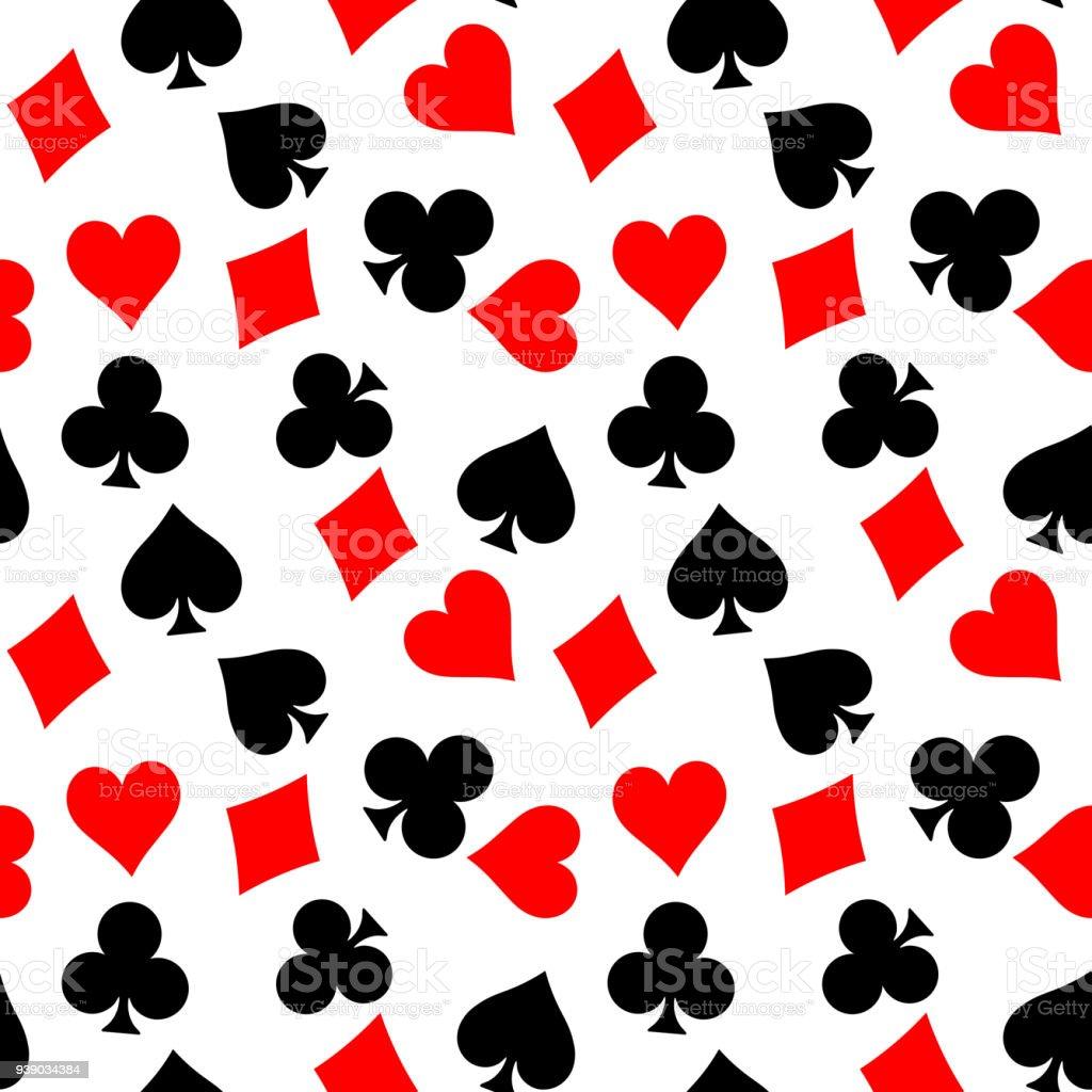 Ilustración De Fondo Transparente De Los Juegos De Poker Corazones