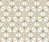 Seamless pattern based on Kumiko pattern