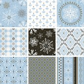 """A collection of greeting patterns.  All design are seamless and """"pattern swatches"""" included in file, for your convenient use."""