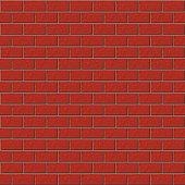 Seamless pattern. Brickwork. Background