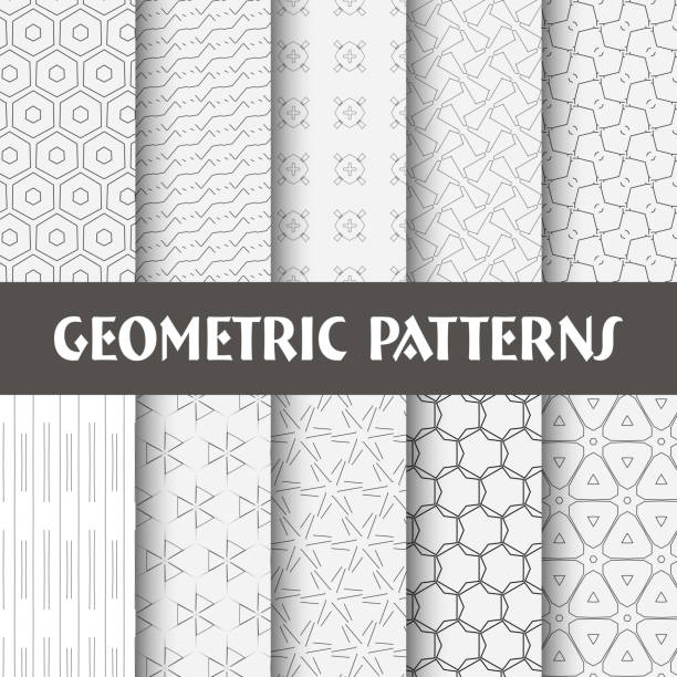 seamless pattern collection vector art illustration