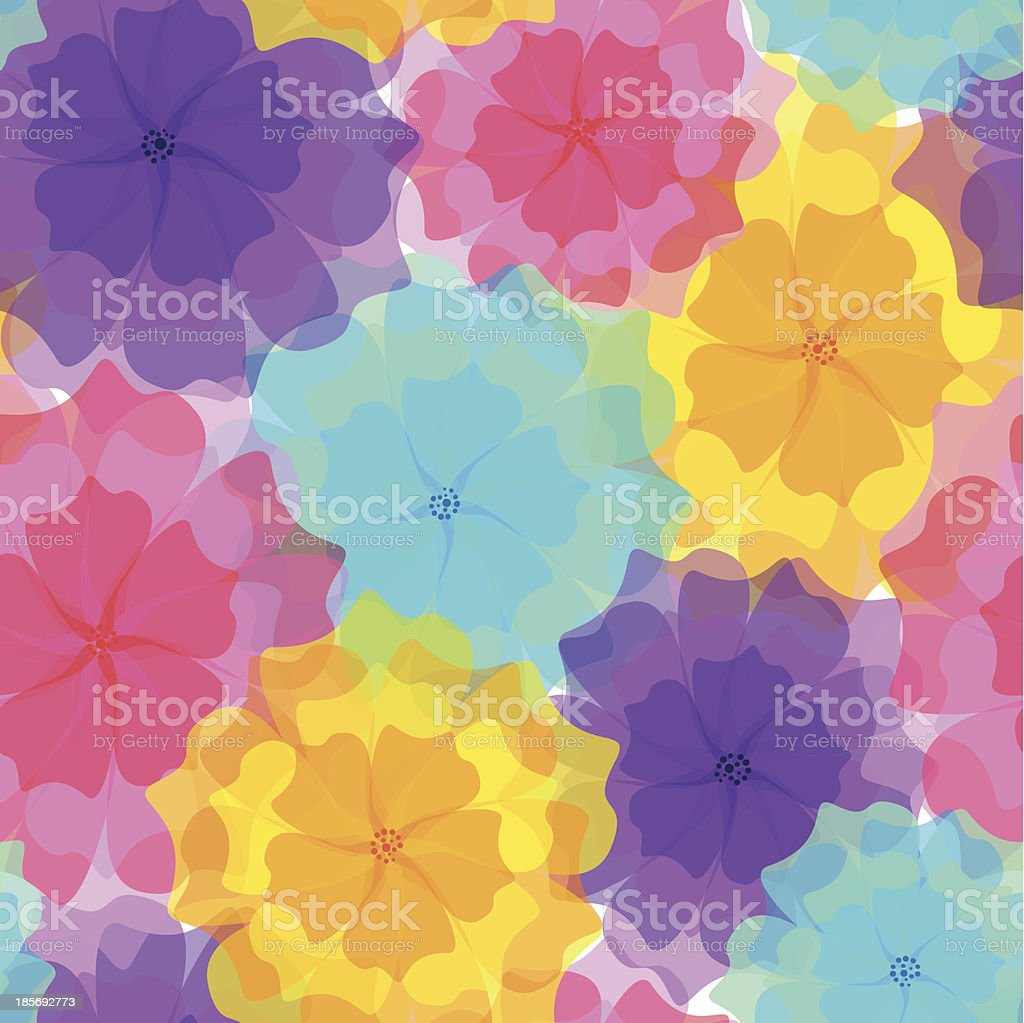 Seamless pattern - colorful flowers royalty-free seamless pattern colorful flowers stock vector art & more images of abstract