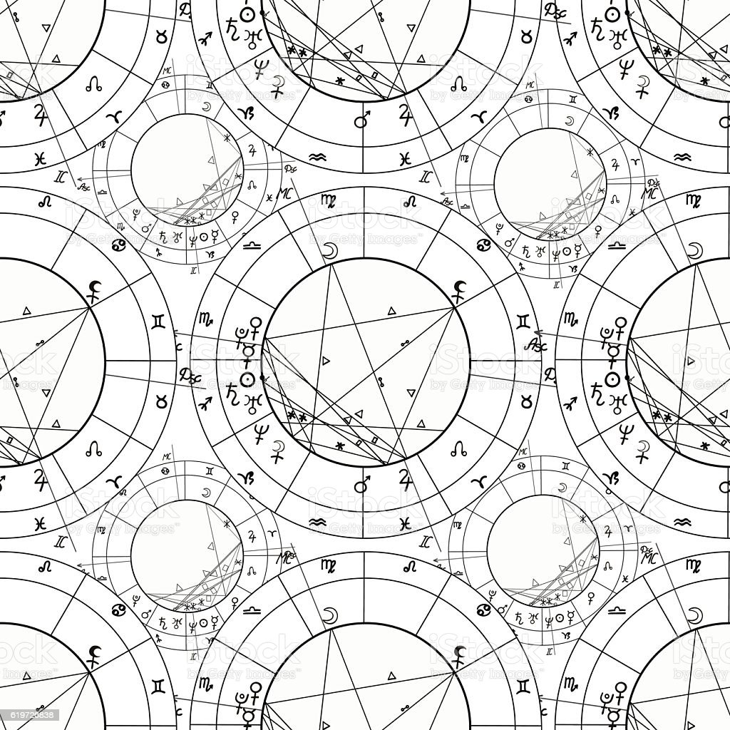 Seamless pattern coloring of natal astrological chart zodiac si seamless pattern coloring of natal astrological chart zodiac si royalty free seamless pattern coloring geenschuldenfo Images