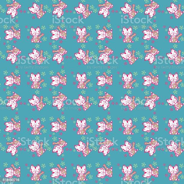 Seamless pattern cute cats vector id518493716?b=1&k=6&m=518493716&s=612x612&h=hnzgsmzgwnnzeocgyrbocv1vavba36trxtzfmhkjja0=