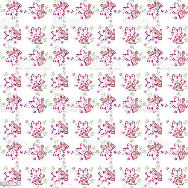 Seamless pattern cute cats vector id518493818?b=1&k=6&m=518493818&s=612x612&h=be6juy7013luwj48e4lxon u 6bar2vjw85hl4oc1is=