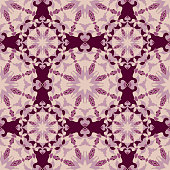 Seamless pattern. Decorative pattern in beautiful violet colors