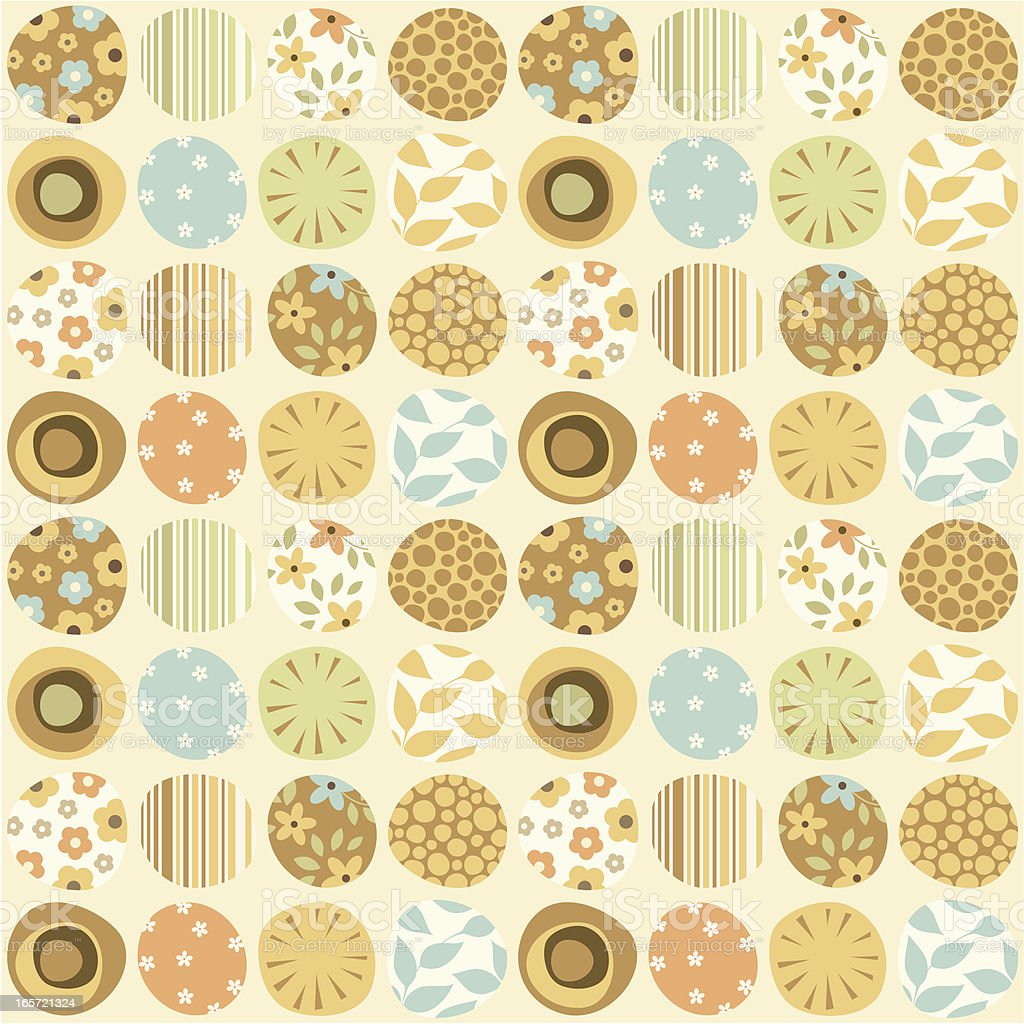 Seamless Pattern Floral royalty-free stock vector art