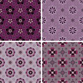 """A collection of floral pattern. All design are seamless and """"pattern swatches"""" included in file, for your convenient use."""