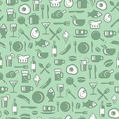 seamless pattern for cafe