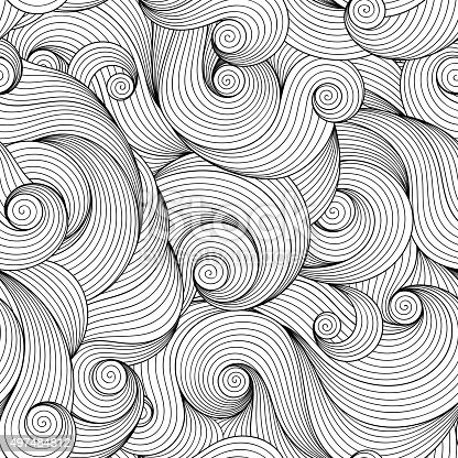 istock Seamless Pattern for coloring book. 497484812