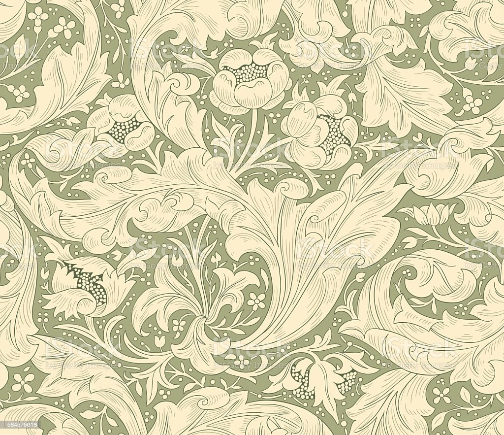Seamless pattern for printing on fabric, paper, web design, packaging. - ilustração de arte em vetor